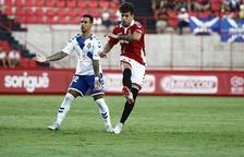 Josua Mejías acaba la seva cessió al Nàstic