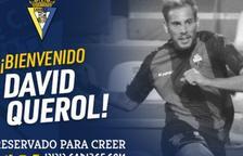 El Cádiz anuncia el fitxatge de David Querol
