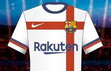 Nike va proposar al Barça una segona equipació blanca que no va ser admesa pel club
