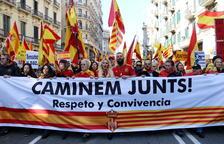 Entitats espanyolistes convoquen una manifestació a Barcelona per al 17 de febrer contra Sánchez