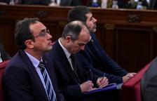 Sànchez, Turull y Rull piden poder ir al Congreso antes del 21 de mayo para hacer los trámites previos para ser diputados