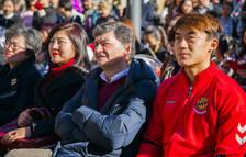 Corsini s'omple de dracs i tallers de la cultura xinesa amb motiu de l'Any Nou