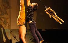 Un espectacle de circ i acrobàcies arriba al Convent de les Arts d'Alcover
