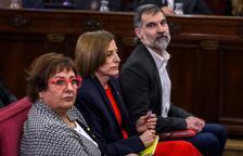 Forcadell anima els catalans a exercir aquesta Diada els seus drets democràtics «lliure i pacíficament»