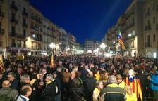 Multitudinaria manifestación en defensa de la autodeterminación en Tarragona
