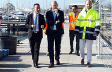Ports crearà un passeig al dic central del port de la Ràpita i reforça el moll de l'espigó