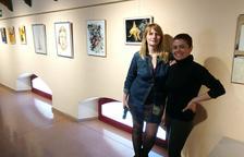 Dues joves artistes del Vendrell exposen al Centre cívic l'Estació durant el març