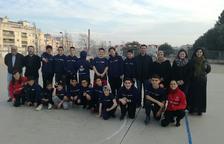 Diversos joves participen en un programa d'inclusió de la Fundació Barça