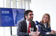 La Generalitat connectarà amb fibra òptica pública el Baix Llobregat, el Garraf i el Baix Penedès