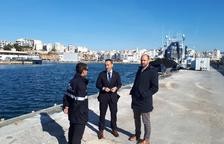 Ports inicia les millores del moll dels tonyinaires del port de l'Ametlla