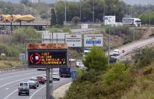 Retencions de 5 quilòmetres en sentit sud a l'N-340 al Vendrell