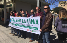 'Trens Dignes' denuncia la desinversió als ferrocarrils i reclamen un millor servei a Catalunya