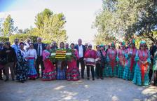 Els andalusos de Tarragona dediquen una ofrena de flors a Blas Infante