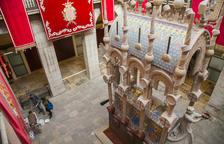 El mausoleu del Rei Jaume I recuperarà el color original