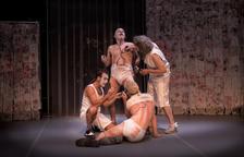 Rhum & Cia porta el circ de 'Rhumans' a l'escenari del Teatre-Auditori del Morell