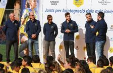 El llegat de Cruyff arriba a Reus amb Sergi Roberto d'ambaixador