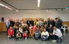 Homenatge als voluntaris a la Bisbal del Penedès