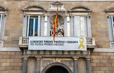 El TSJC ordena a Torra que retiri la pancarta dels presos de la Generalitat en 48 hores