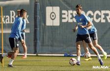 Un Málaga en hores baixes buscarà ressuscitar al Nou Estadi diumenge