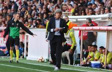 Enrique Martín: «Quan no guanyes partits, els clubs prenen decisions»