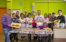 Dieciséis personas empiezan un curso de auxiliar de cocina en Constantí