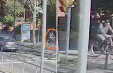 Busquen a Barcelona un ciclista que dissabte va atropellar i ferir greument un menor a la Diagonal