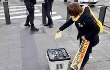 Denuncien per desobediència dos activistes tarragonins a Madrid