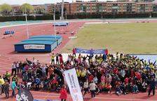 L'Anella Mediterrània acull la 13à Trobada Esportiva d'Escoles d'Educació Especial