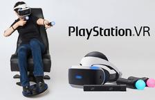 Més realitat virtual per la PS4: un comandament per a controlar amb els peus i unes ulleres graduades