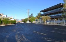 Es construeixen dues noves zones d'aparcament a Sol i Vista