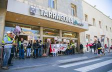 Els vigilants de seguretat de Renfe a Tarragona reclamen un plus salarial de perillositat