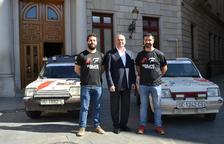 Recepció institucional als reusencs participants a l'Spain Classic Raid