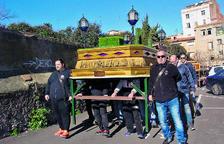 Els únics passos duts a espatlles a la ciutat de Valls