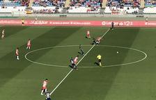 Final: el Nàstic cau golejat a Almeria