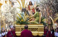 Diumenge de Rams amb la benedicció de palmes, processó i viacrucis