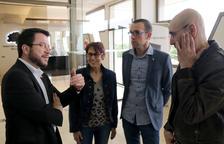 Aragonès reivindica la figura de Neus Català com a referent de la lluita contra l'oblit del feixisme