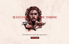 El Banc de Sang participa en la campanya d'HBO que, amb Joc de Trons, anima a les donacions