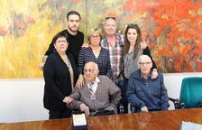 L'altafullenc Manuel Tello rep la Medalla Centenària de la Generalitat