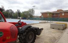 En marcha las obras del nuevo poliligero anexo a la Escola Cèlia Artiga