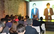 Puigdemont, a Jordi Sànchez: «L'esperit de l'1-O garantirà que el nostre desig d'abraçar-nos sigui realitat»