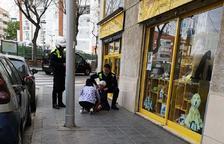 Una mujer mayor herida después de robarle el bolso de un tirón en Tarragona