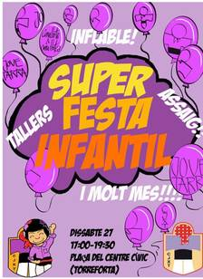 Festa infantil castellera a Torreforta
