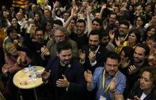 ERC consigue 1.015.355 votos en las elecciones del 28-A, con el 100% escrutado