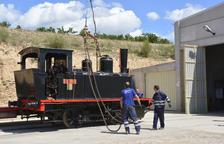 El Museu del Ferrocarril de Móra restaurarà una nova locomotora de vapor del segle XIX