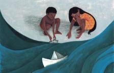 Alumnes de l'Escola d'Art exposen contes il·lustrats japonesos al Kesse