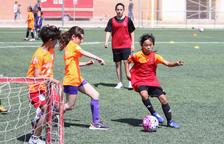 Riudoms acull la setena Jornada de Futbol Femení amb 132 inscrites