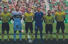 Javier Iglesias Villanueva dirigirà el partit entre el Nàstic i l'Extremadura