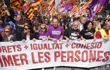 Més d'un miler de persones es manifesten a Tarragona per reivindicar els drets laborals