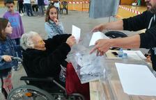 La dona més longeva de la demarcació tanca la llista que encapçala la seva neta a l'Arboç