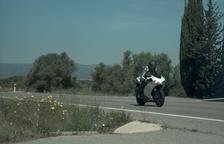 Detenen un motorista que circulava a 195 km/h en un tram limitat a 90 a Tivissa